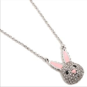 🐰Kate Spade Magic Bunny Pave necklace